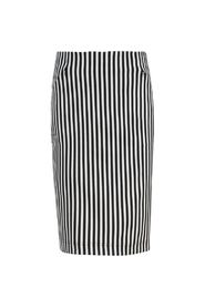 Skirt stripe stretch