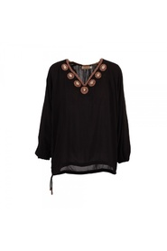 Svart Hot Lava Black Pearl topp