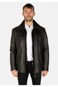 FLEX LEATHER PARKA - MEN'S WINTER JACKET