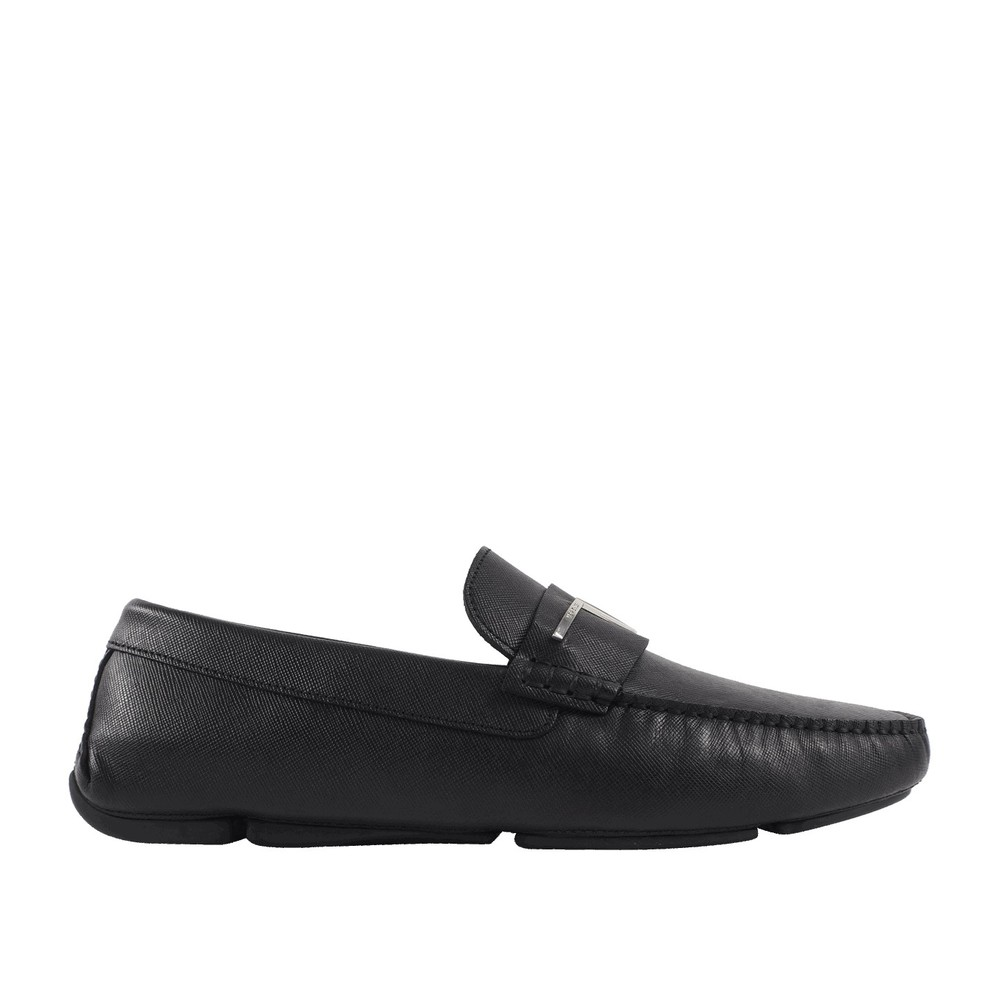 Læder loafer