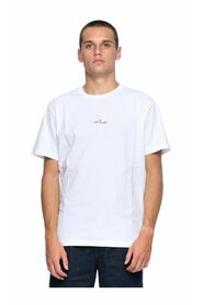 Cotton Jersey Mixed Media Two Print Slim Fit Short Sleeve T-Shirt