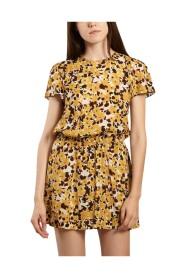 Landa flower print dress