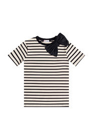 T-shirt with bow