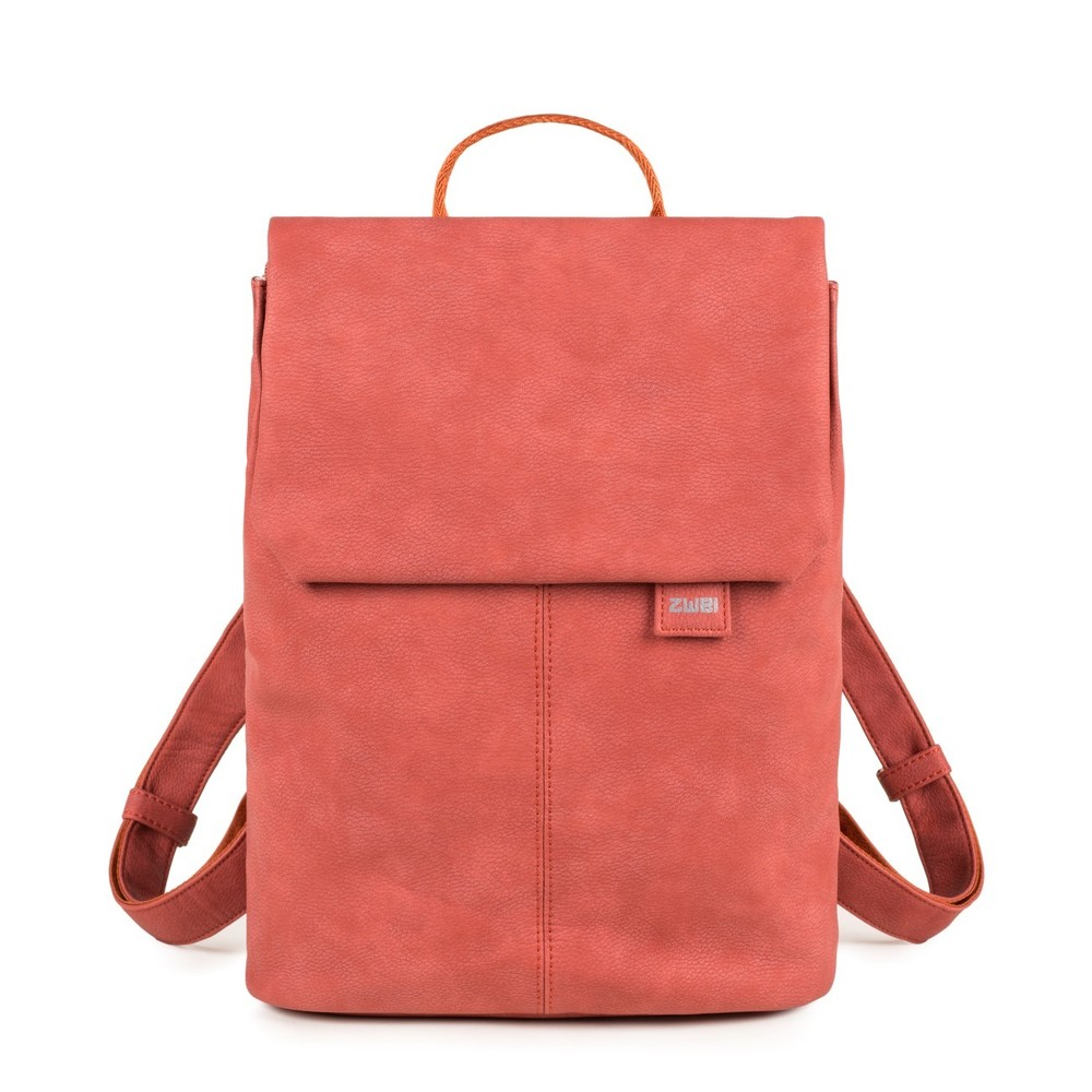 Mademoiselle Backpack nubuk chili red