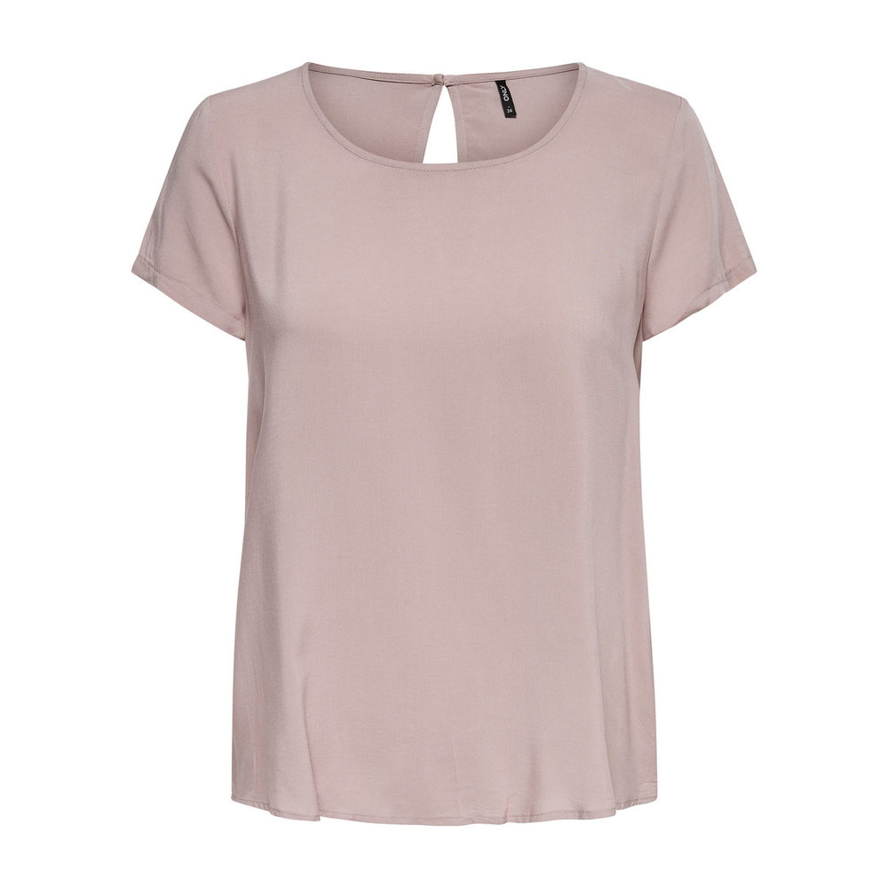 Short Sleeved Top Solid