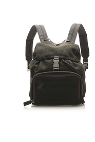 Pre-owned Canvas Backpack