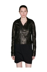 RP18S8703 LCW BLACK LEATHER JACKET