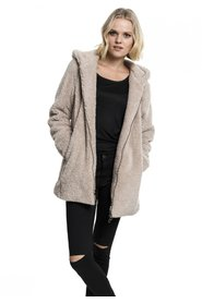 Ladies Sherpa Jakke | Sand