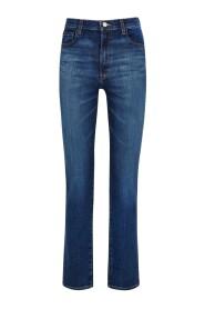 Teagan High Rise Straight Arcade Jeans