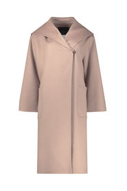 Hooded swagger coat