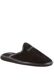 Hush Puppies Men Hjemmesko Suede Sort