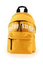 Curved logo backpack
