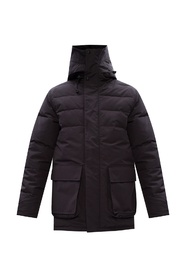 'Wedgemount' jacket with split hood