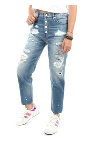WQ381-8R-T085A Straight Jeans