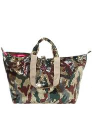 All Time Favourites Kleine Shopper Pailletten Camouflage Shiny