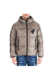 men's outerwear down jacket blouson hood puffer