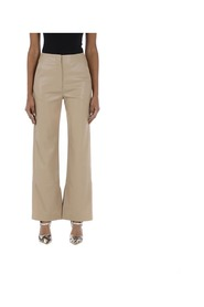 Rhyan faux leather trousers