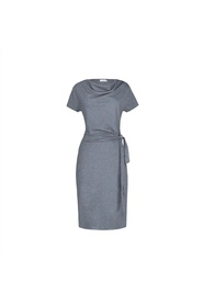 lily dress grey melange residus