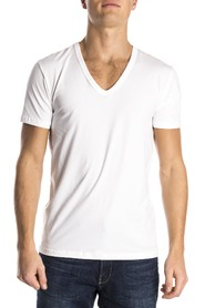 Mey T-Shirt Organic V-Neck White