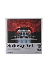 Puzzle Subway Art