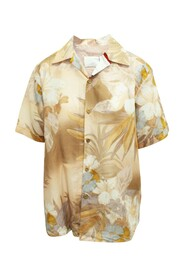 Floral Print Oversized Shirt -Pre Owned Condition Very Good