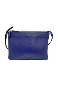 Pre-owned Trio Leather Crossbody Bag