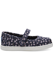 Navy Ditzy Daisy Toms Mary Jane
