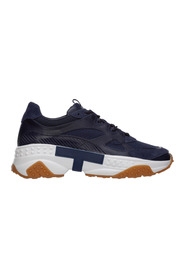 men's shoes leather trainers sneakers active