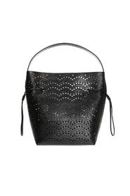 Perforated shopper bag