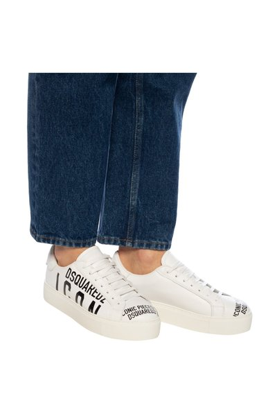 WHITE Logo sneakers | Dsquared2 | Sneakers