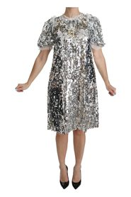 Sequined Crystal Dress