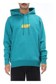 Front Logo Hooded Sweatshirt