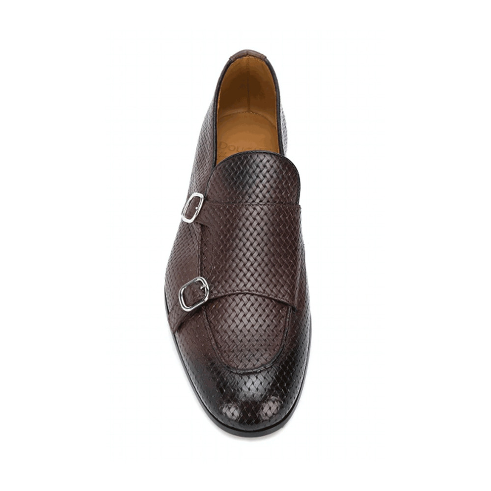 brown Loafers - DU2363CAPRUF073 | Doucals | Loafers | Men's shoes