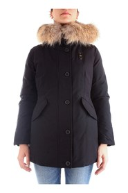 BLAUER 19WBLDB03254-005565 Coat Women BLACK