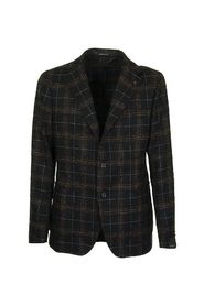 Checked two-button jacket blazer