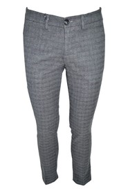 MEN'S GENOA TROUSERS IN DAMA FABRIC