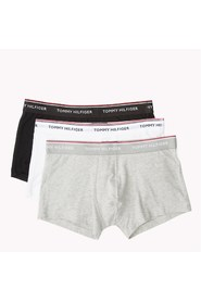 TOMMY HILFIGER 1U87903841 TRUNK 3 PACK UNDERWEAR Men 1 Black, 1 White, 1 Gray