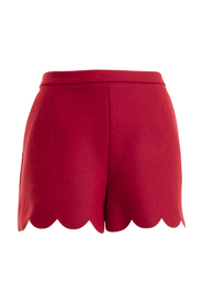 Uld blanding flosset korte bukser