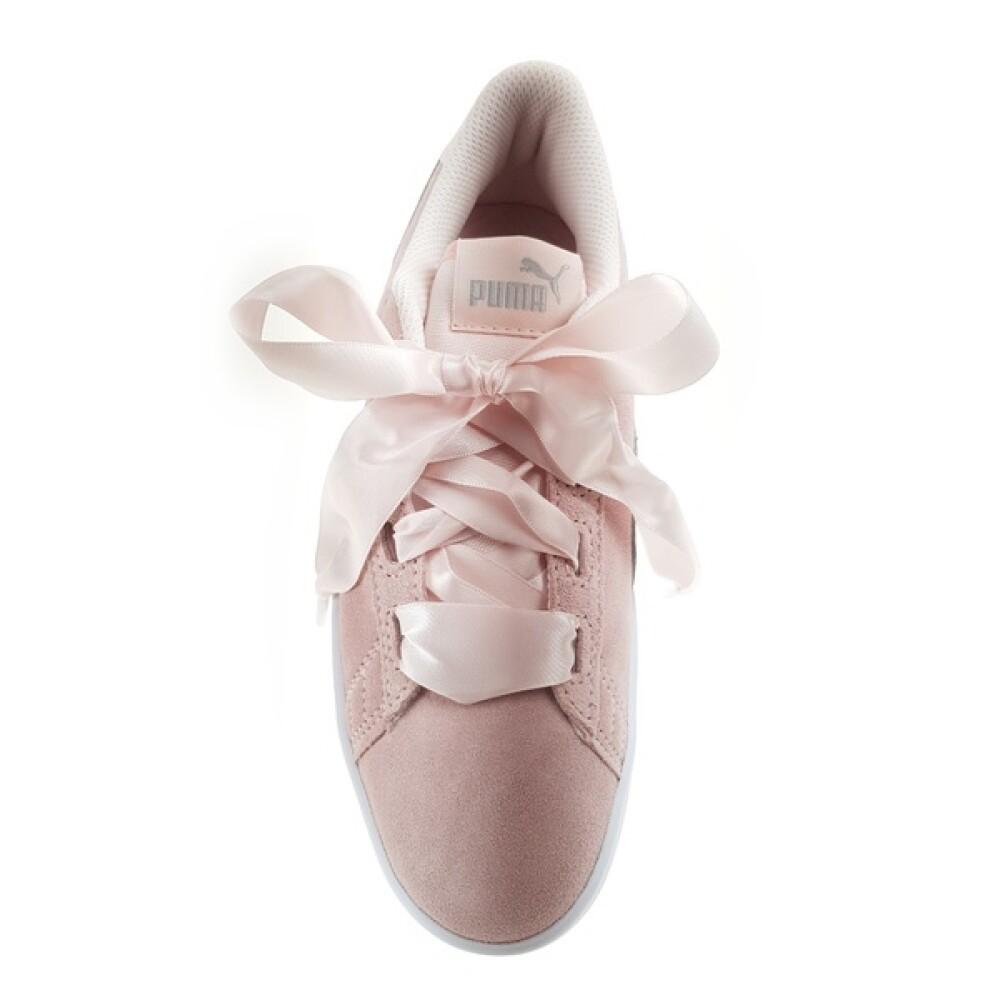 Rosa Puma Smash Pearl Sneakers, BN 300