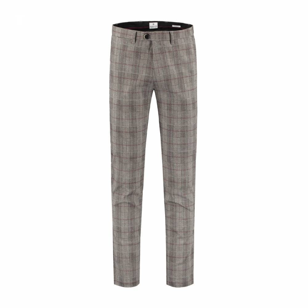 Fancy chino flannel fancy check pantalon
