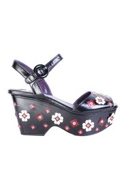 Flowers Embellished Wedges