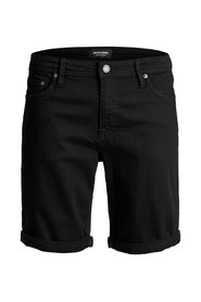 Denim shorts Super stretch black