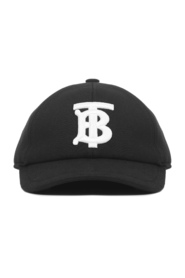 Hat With Embroidered Monogram