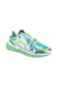 Sneakers combi nacre