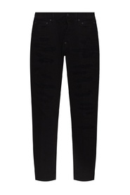 Trash Black – Super Twinky Jeans in Bull-Waschung