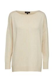 Slfnaya Ls Knit Boatneck Sweater