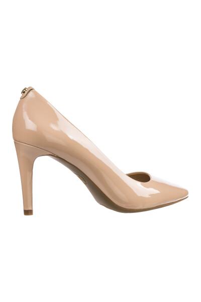 Beige leather pumps court shoes high heel dorothy | Michael Kors | Pumps