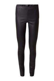 Roche stretch leather leggings