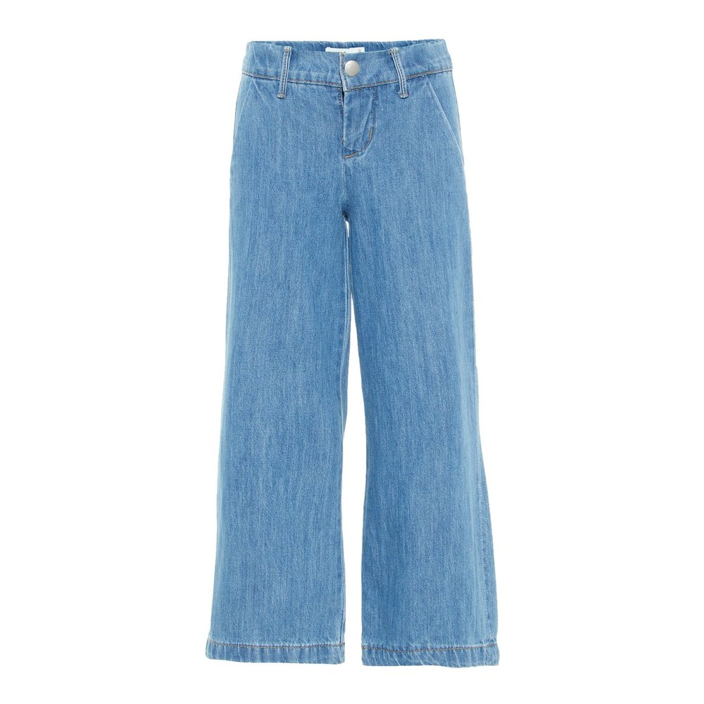 Jeans cropped fit flared