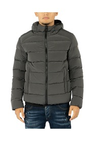 Down Jacket In Ripstop Fabric